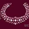 Rare Art Deco Pink Sherman Bracelet Circa 1950's