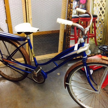 My antique Hiawatha bicycle