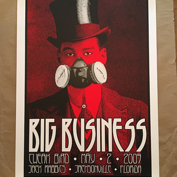 Chuck Sperry, Big Business poster, 2009 - Posters and Prints