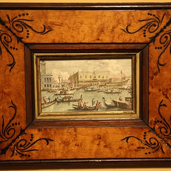 Beautiful Venetian Print - Souvenir from a Grand Tour?