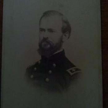 Civil War CDV of Union General James B McPherson KIA Atlanta 1864