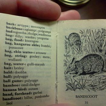Lilliput Aboriginal Dictionary
