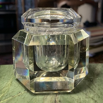 Cut Crystal Container - Glassware