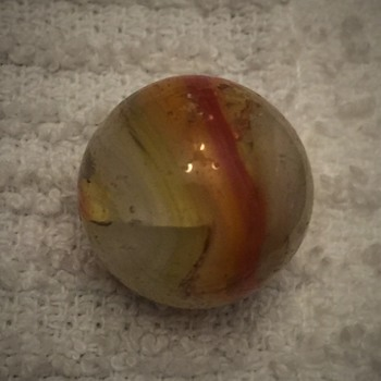 Mixed Old Marbles Found  - Art Glass