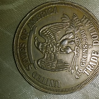 1875(S) TRADE DOLLAR, UNITED STATES OF AMERICA