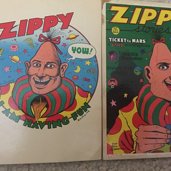 Bill Griffith Zippy postcards - Postcards