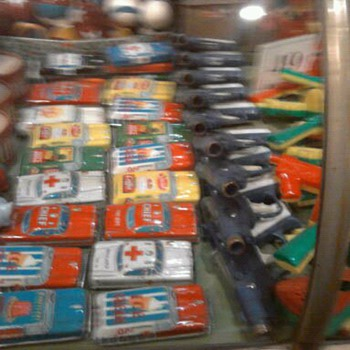 Tin toy cars...From Japan most likely. - Toys