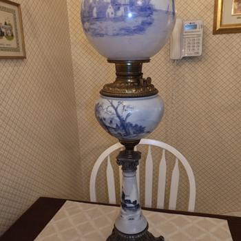 Royal Oil Lamp.... 1892 - Lamps