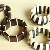 Ivory and wood jewelry