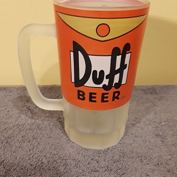DUFF BEER mug - Advertising