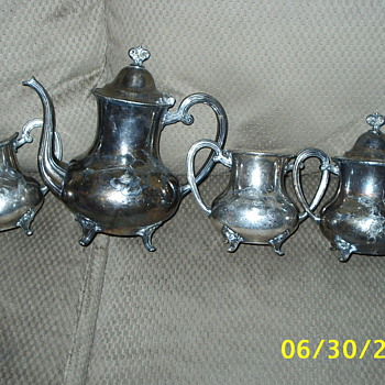 Silver set given to me - Silver