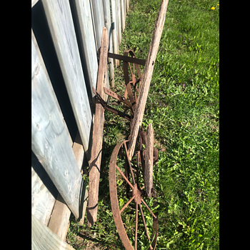 Antique Hand Plow - Tools and Hardware