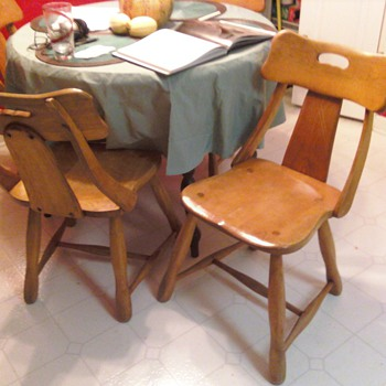 Unidentified Chairs - Furniture