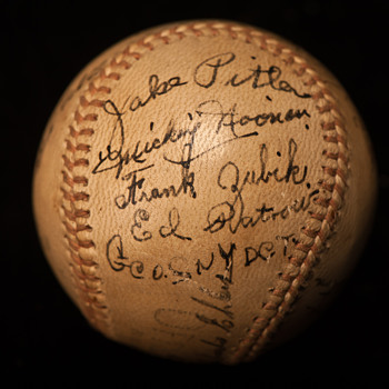 Signed Baseball  - Baseball