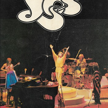 "YES ""Program""07-1975 - Music Memorabilia"