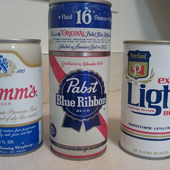 Just a few old cans....