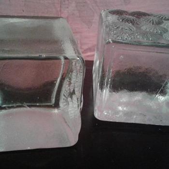 Glass cubes - Art Glass