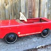 1960's AMF Mustang Pedal Car - Before & After Pictures