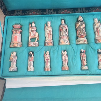 Chinese Dynasty Chess Set