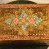 Pretty Carved and Painted Wooden Box
