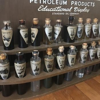 Standard oil education display  - Petroliana