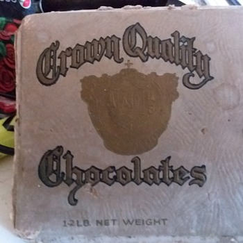 Front of a box of chococate - Advertising