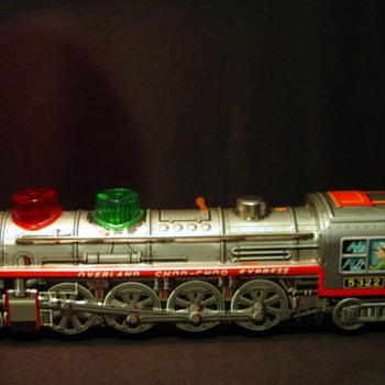 Overland Choo-Choo Kanto Toys JapanTin Plate Locomotive - Model Trains