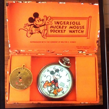 English Mickey #2 Pocketwatch - Animals