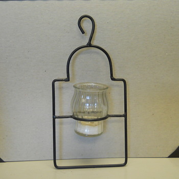 Mystery Glass Candleholders