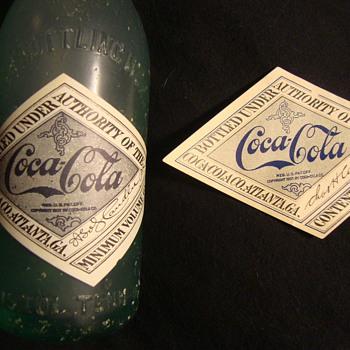 1917 Coca-Cola Label - Coca-Cola