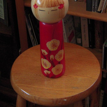 Kokeshi doll (circa 1979)