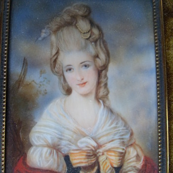 18th CENTURY MINIATURE PORTRAIT (UNKNOWN ARTIST)