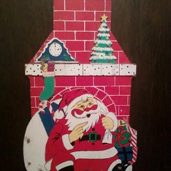 Santa Christmas Card Holder! - Christmas