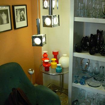 A glass collector's living room IV - Art Glass