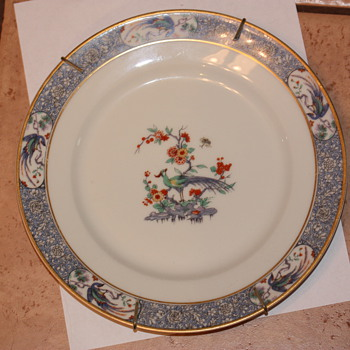 Theodore Haviland China Plate- Rajah Pattern, pre 1921 - China and Dinnerware