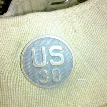 more WWI U.S. Army Collar Discs from my uniform collection #2