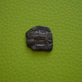 Byzantine bronze coin - World Coins