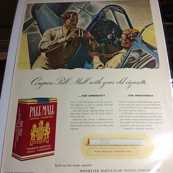 One puff and your Flying  - Advertising