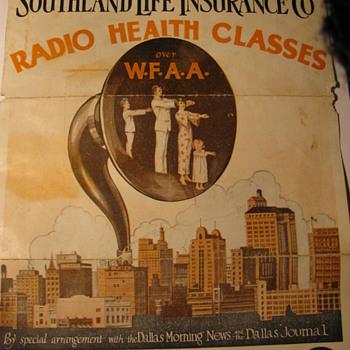 Radio Health Classes fromWFAA in Dallas