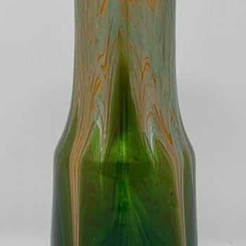 Loetz Titania Genre 4212 Vase, st PN II-7492, ca. 1906 - Art Glass