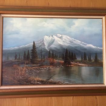 White mountain  - Fine Art