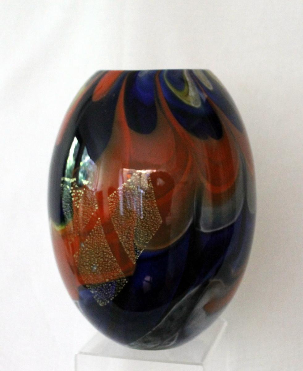 Hokuyo Glass vase 1960s   Collectors Weekly
