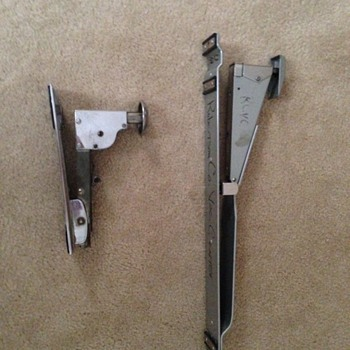 Staplers, one older and one ?