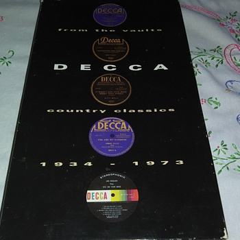 THE DECCA YEARS..1934-1973 - Records
