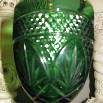 Green wines glasses - Glassware