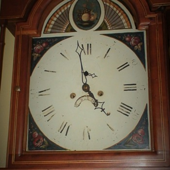 Early 19th Century Grandfather Clock Maker Unknown - Clocks