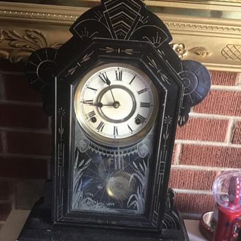 Spider mantle clock - Clocks