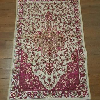 Decorative Handmade Silk rug ? origin ?  - Rugs and Textiles