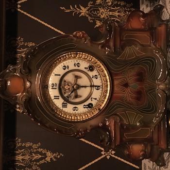 Ansonia Royal Bonn Mantle Clock