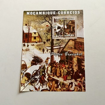 Mocambique Stamp Sheet Souvenir - Stamps